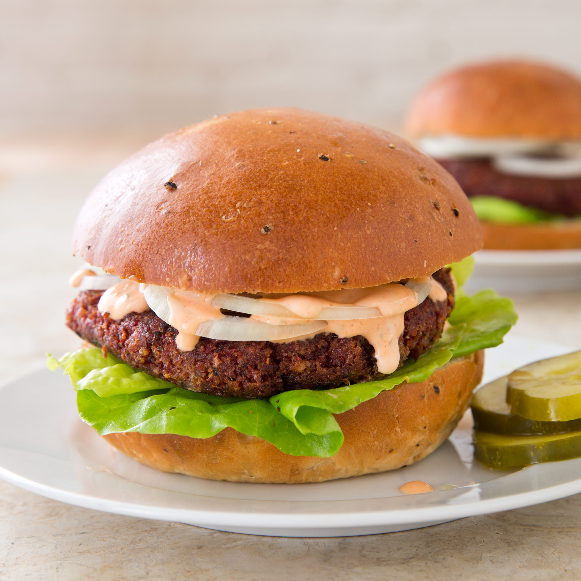 Pinto Bean Beet And Bulgur Burgers The Complete